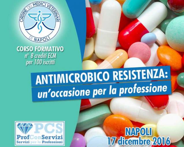 Giornata formativa: Antimicrobico resistenza, un'occasione per la professione