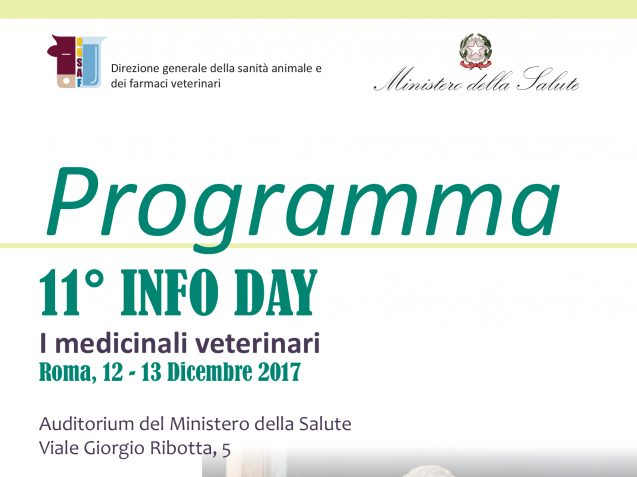 "Infoday 2017 ""I Medicinali Veterinari"""