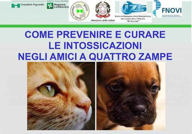 Manuale prevenzione intossicazioni nei pets
