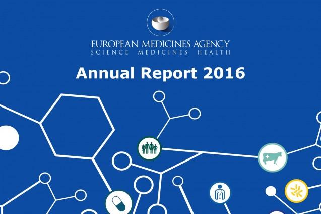 Relazione Annuale EMA 2016 (Agenzia Europea dei Medicinali)