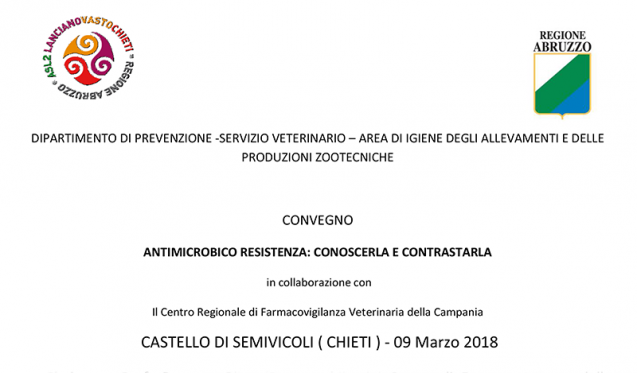 9 Marzo 2018 – Chieti: Antimicrobico resistenza: conoscenza e contrastarla